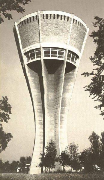 Wieża ciśnień w Vukovar przed wojną