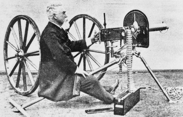 Hiram Maxim i jego karabin maszynowy