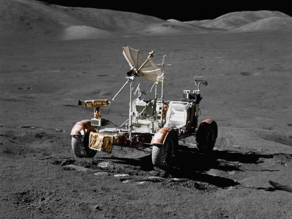 Lunar Roving Vehicle (fot. NASA)