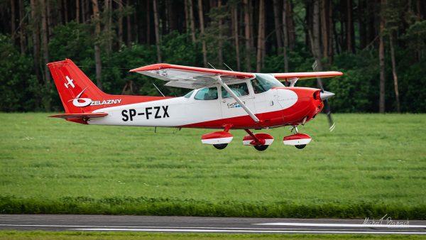 Cessna 172N Skyhawk II (SP-FZX) (fot. Michał Banach)