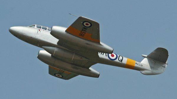 Gloster Meteor (fot. Alan Wilson/Flickr.com)
