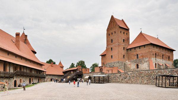 Zamek w Trokach (fot. Dmitry A. Mottl)