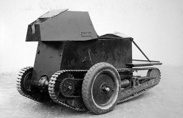 Ulepszony kołowo-gąsienicowy Carden-Loyd Mark I