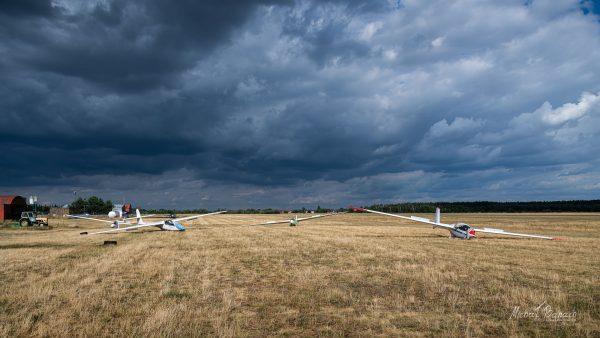 Szybowce Aeroklubu Poznańskiego (fot. Michał Banach)