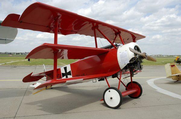 Fokker Dr.I (fot. Oliver Thiele)