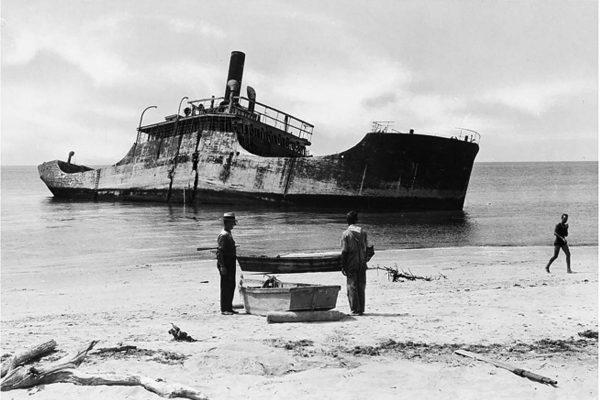 Wrak betonowca SS Atlantus