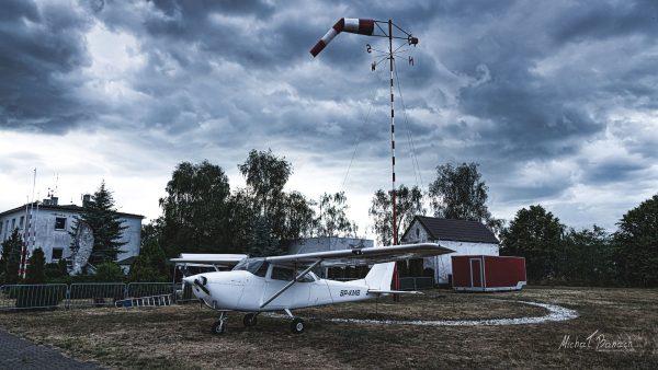 Reims-Cessna F172G Skyhawk (SP-KMB) (fot. Michał Banach)