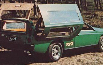 Zapomniana Toyota RV-1 i RV-2