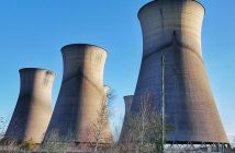 Five Brothers - opuszczone chłodnie kominowe elektrowni Willington