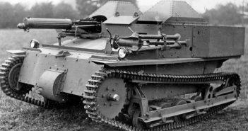 Przełomowa tankietka Vickers Carden Loyd Mark VI