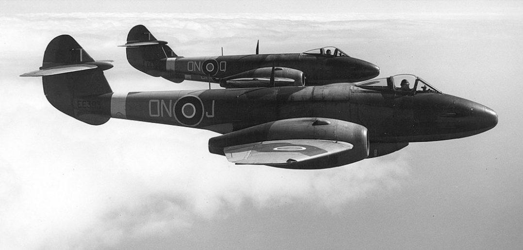 Gloster Meteor - pierwszy aliancki odrzutowiec