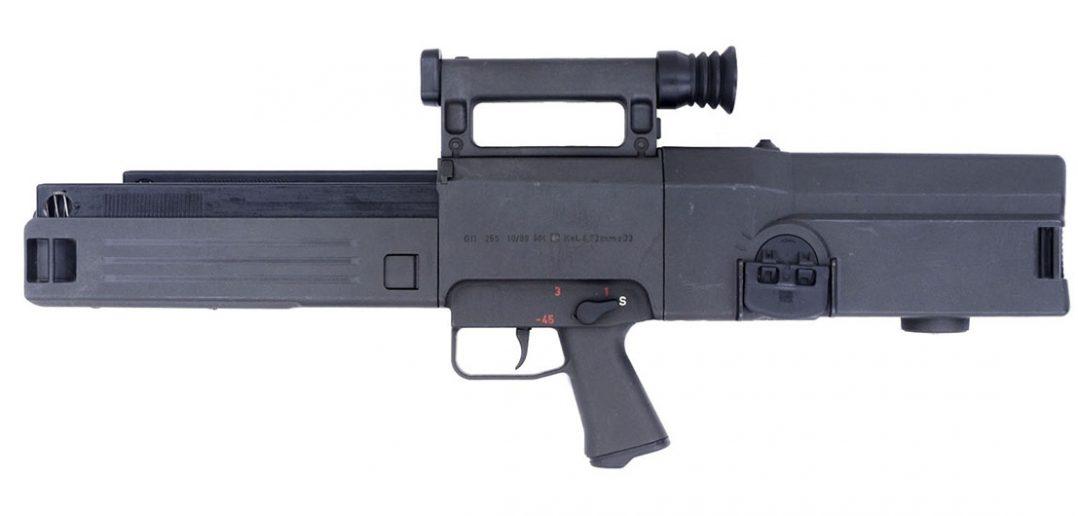 Heckler & Koch G11 - prototypowy karabin na amunicję bezłuskową