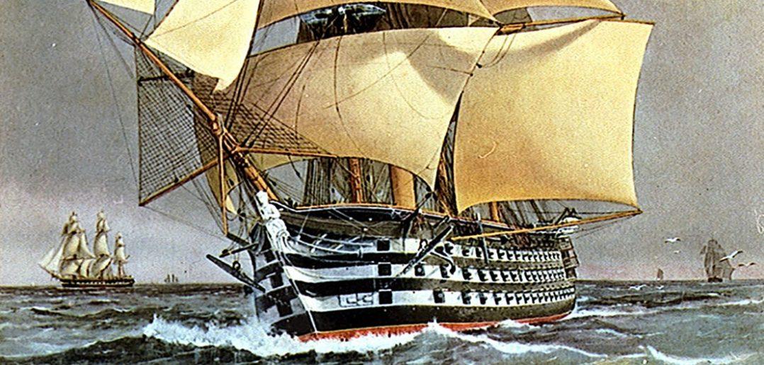 HMS Victoria (1859) - pierwszy i ostatni