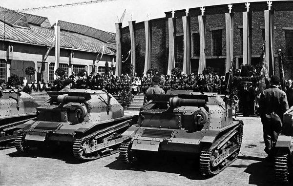 Polskie tankietki TKS