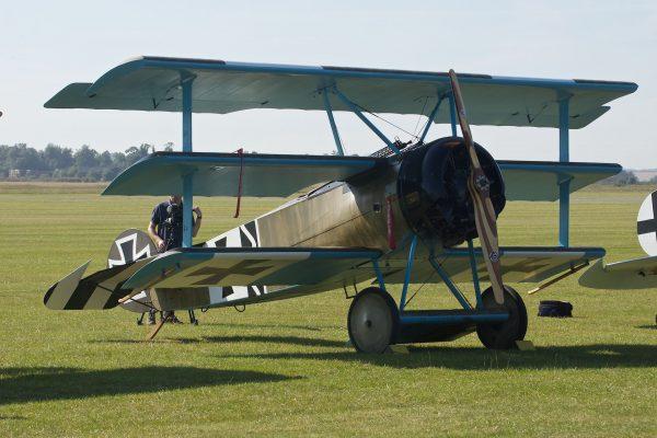 Fokker Dr.I (fot. Paul Hudson)