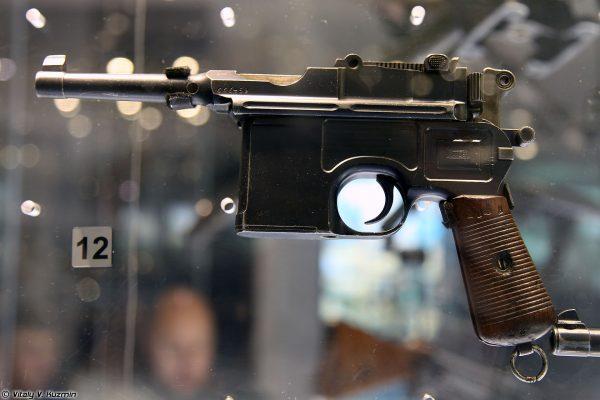 Mauser C96 Bolo - z krótką lufą