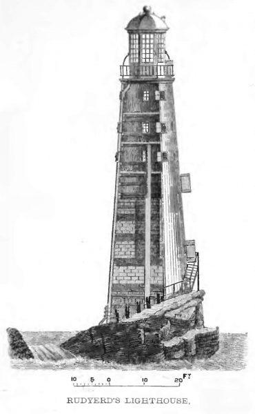 Druga latarnia morska zbudowana na Eddystone Rocks