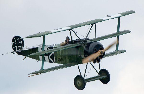 Fokker Dr.I (fot. Matthias Kabel)