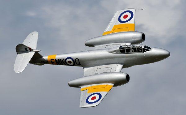 Gloster Meteor (fot. Jez/Flickr.com)