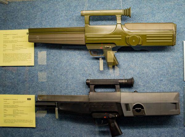 Prototypy 13 i 14 karabinka HK G11 (fot. Wikimedia Commons)