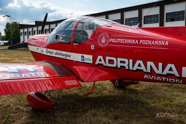 Zlin 242L (SP-UTB) (fot. Michał Banach)
