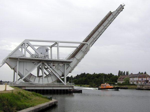 Most Pegaza (nowy) współcześnie (fot. Wikimedia Commons)