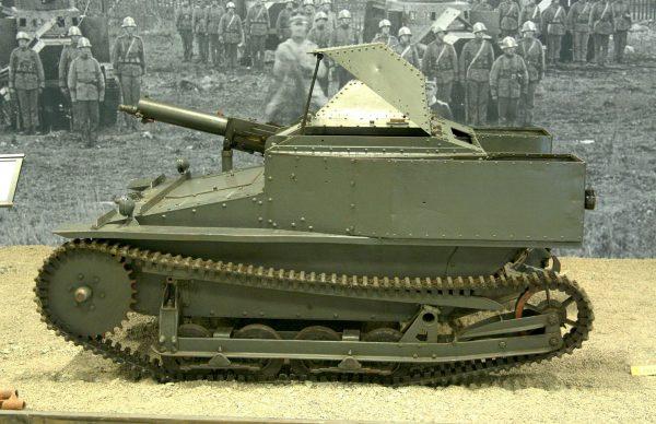 Vickers Carden Loyd Mark VI (fot. Carsten Krüger Wassen)