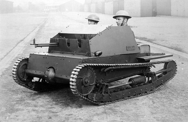 Carden-Loyd Two Man Tankette