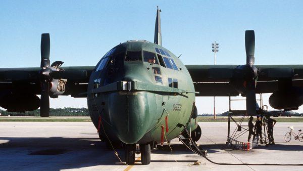 MC-130 z chwytakiem liny systemy STARS