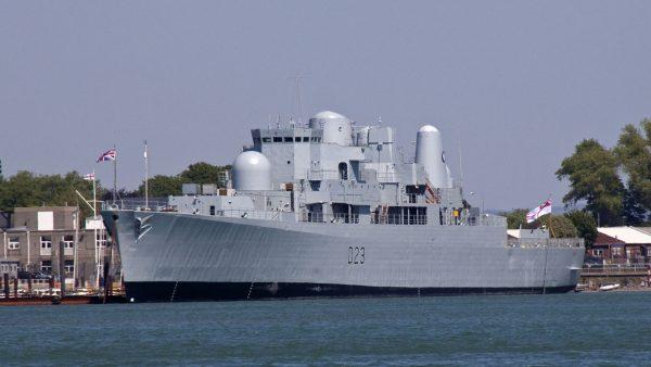 HMS Bristol współcześnie (fot. Tony Hisgett)