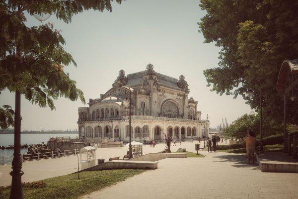 Kasyno w Konstancy współcześnie (fot. Ștefan Jurcă)