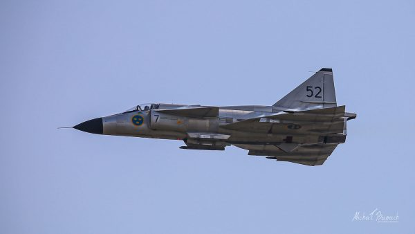 Saab JA37 Viggen (fot. Michał Banach)
