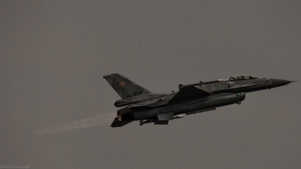 Lockheed Martin F-16C Jastrząb (4041) (fot. Michał Niemczyk)