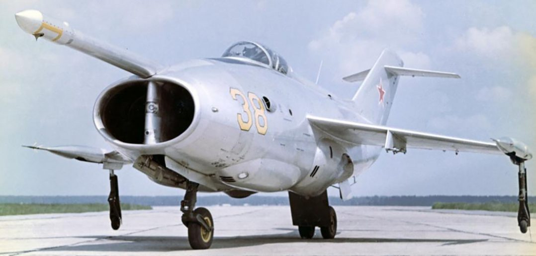 Jakowlew Jak-36 - radziecki eksperymentalny VTOL