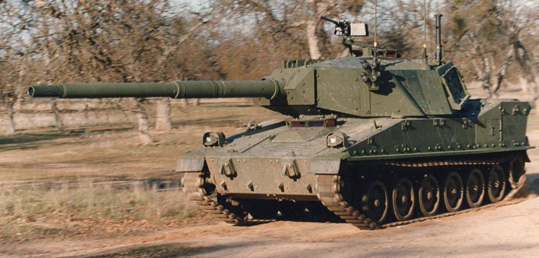 M8 Armored Gun System - prototypowy czołg powietrznodesantowy