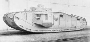 """Mark VIII """"Liberty"""" - międzynarodowy czołg z I wojny światowej"""