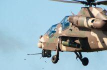 Południowoafrykański śmigłowiec szturmowy Denel Rooivalk