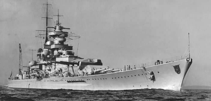 Niemieckie pancerniki Scharnhorst i Gneisenau