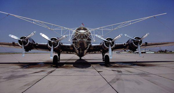 B-17 zmodyfikowany do użycia systemy SkyHook