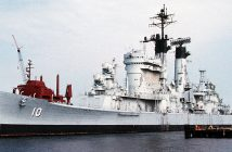 Krążowniki rakietowe typu Albany