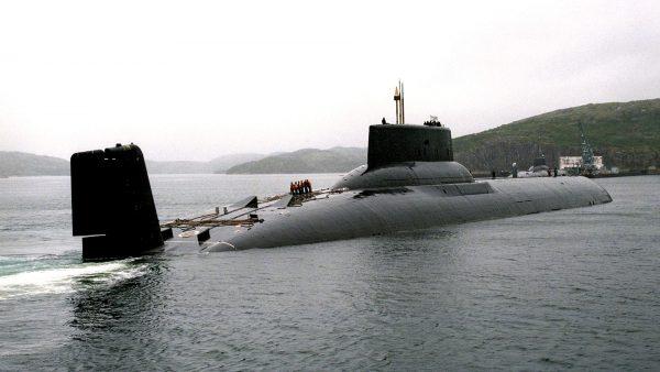 Jeden z okrętów projektu 941