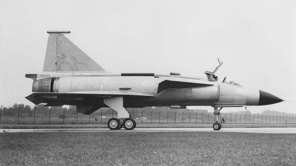 Prototyp Saaba 37 Viggen