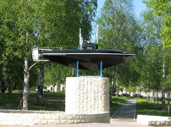 Okręt podwodny Drzewieckiego (fot. Wikimedia Commons)