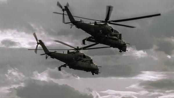 Mi-24 (fot. Michał Niemczyk)