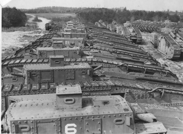 Czołgi Mark VIII wycofane ze służby