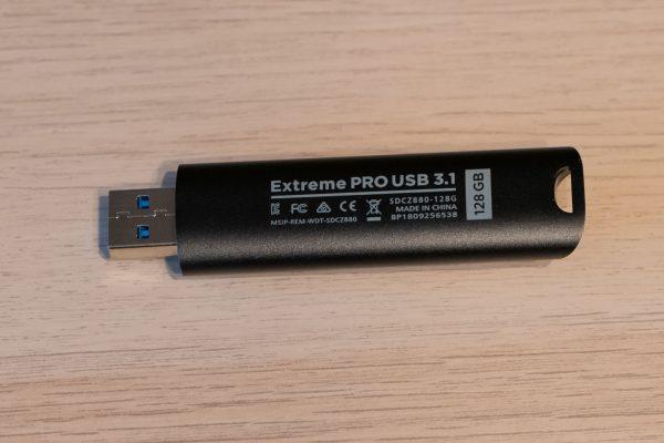 SanDisk Extreme PRO USB 3.1 128 GB