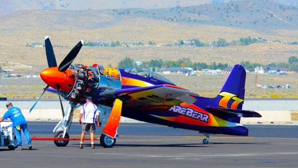 "Grumman F8F Bearcat ""Rare Bear"" (fot. D. Ramey Logan)"