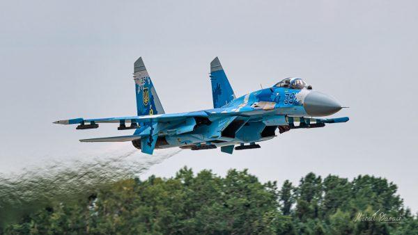Sukhoi Su-27P (39) (fot. Michał Banach)
