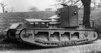 Medium Mark A Whippet - pierwszy brytyjski czołg szybki