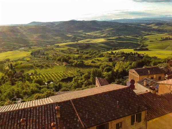 Włoska Toskania to piękne miejsce
